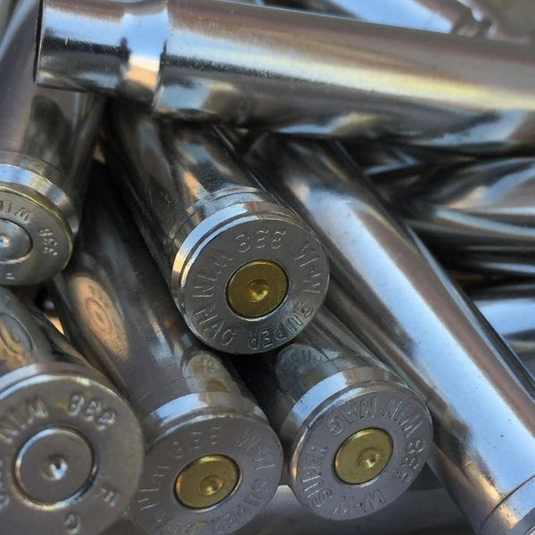 .338 Win Mag, Assorted Brand, Nickel Plated 20 pk.