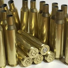 6mm Rem, 'Remington', used brass cases, 20 pk