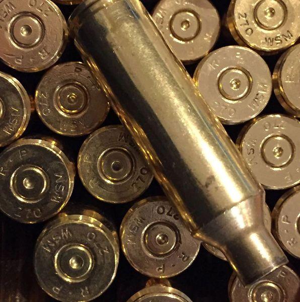.270 WSM, Assorted Mfgr, Brass 20 pack