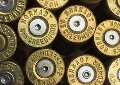 6.5 Creedmoor, Assorted Mfgr, rifle brass cases. 20 pk
