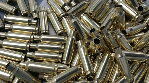 6.5 Grendel, Assorted Mfgr, rifle brass cases. 20 pk