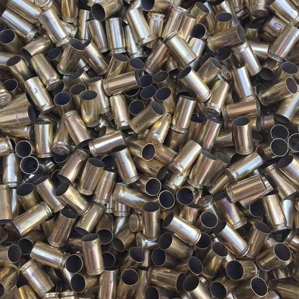 9mm Bulk Brass