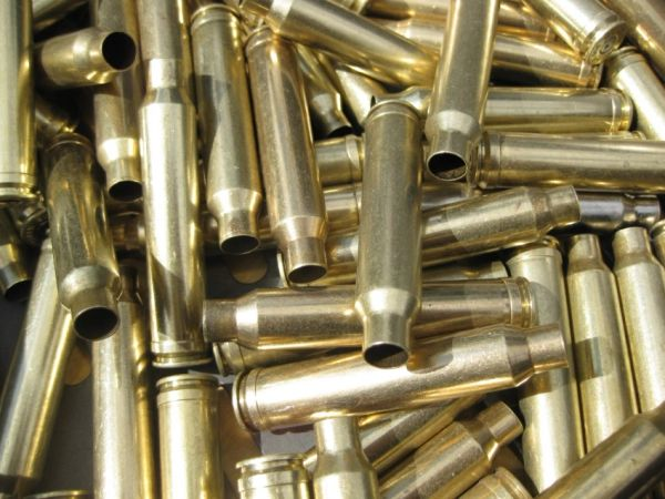 300 Win Mag, Assorted Mfrg, Used Rifle Brass 20pk