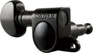 Grover Guitar Machineheads - Mini Roto-matic 205 Series - Mini Rotomatic Machine-head / Tuners - set of 3+3