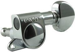 Grover Guitar Machineheads - Mini Roto-matic 205 Series - Mini Rotomatic Machine-head / Tuners - set of 6-in-a-line