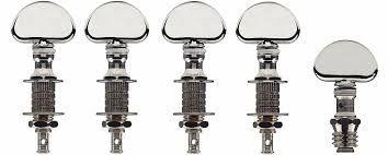 Grover Banjo Pegs / Machineheads - Perma-Tension Banjo Pegs Machineheads / Tuners 117 Series - set of 5