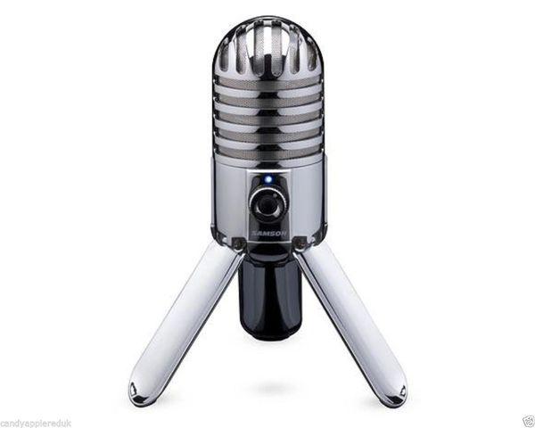 Samson Meteor Microphone - USB Studio Microphone