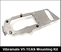Vibramate V5-TEAS Stage 1 American Standard Tele - Non-Drill Bigsby Mounting Kit - Aluminium