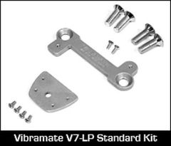 Vibramate V7 - LP Carved Top Non-Drill Bigsby Mounting Kit - Aluminium
