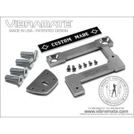 "Vibramate V7 335E Archtop (216mm/8.5"") - Non-Drill Bigsby Mounting Kit - Aluminium"