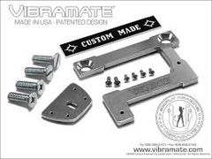 "Vibramate V7 335G Archtop (203mm/8"") Original Non-Drill Bigsby Mounting Kit - Aluminium"