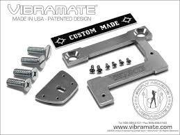 "Vibramate V7 335G Archtop (203mm/8"") Original Non-Drill Bigsby Mounting Kit - Aluminium"