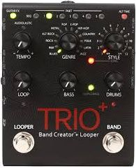 Digitech Trio PLUS - Band Creator and Looper Guitar Effects Pedal