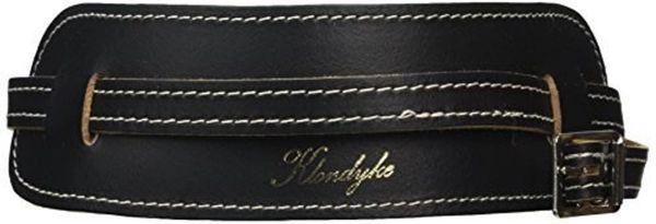 Klondyke Cradle Leather Banjo Strap - Sheepskin Backed