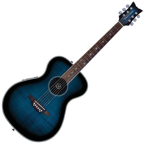 Daisy Rock 'Pixie' Electro-Acoustic Guitar ~ Blueberry Burst
