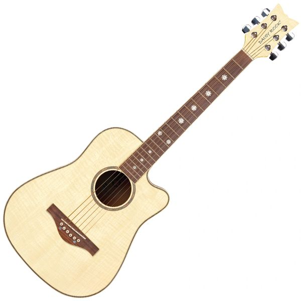 Daisy Rock 'Wildwood' Short Scale Acoustic Guitar ~ Bleach Blonde