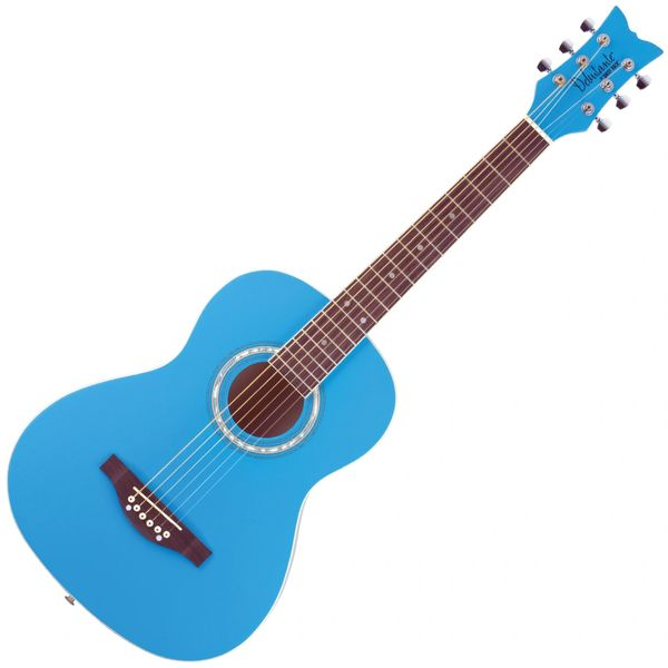 Daisy Rock 'Debutante Junior Miss Acoustic' Guitar ~ Cotton Candy Blue