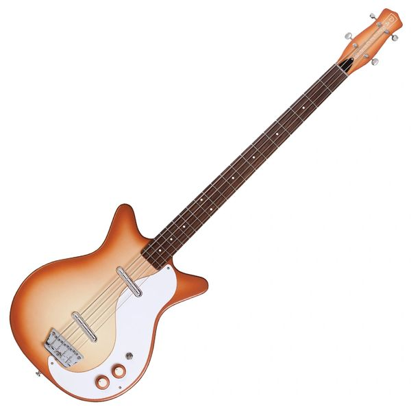 Danelectro Long Scale Bass ~ Copper Burst