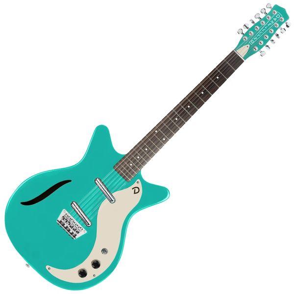 Danelectro Vintage 12 String� Guitar ~ Dark Aqua