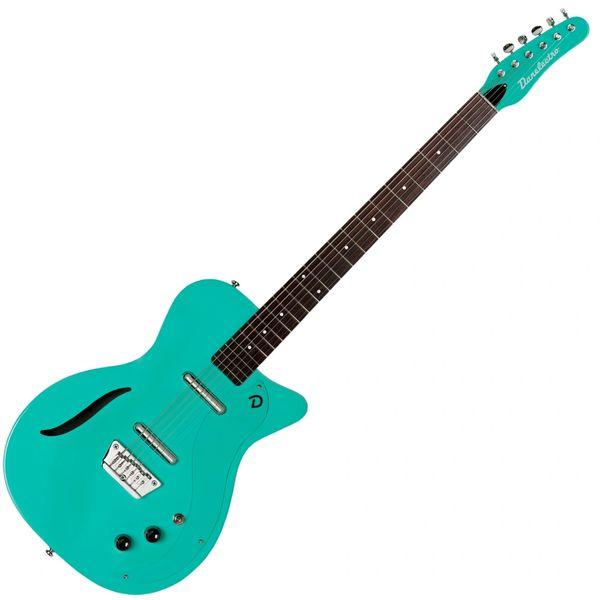 Danelectro Vintage '56 Baritone Guitar ~ Dark Aqua