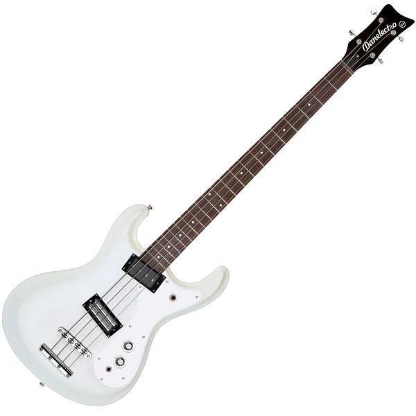 Danelectro Vintage '64 Bass ~ White Pearl
