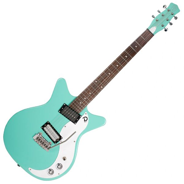 Danelectro 59XT Guitar with Vibrato ~ Aqua