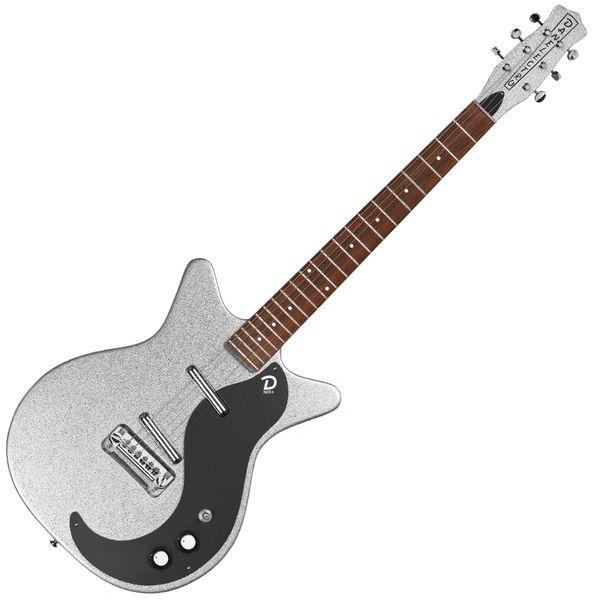 Danelectro 60th Anniversary DC59 ~ Silver Metalflake