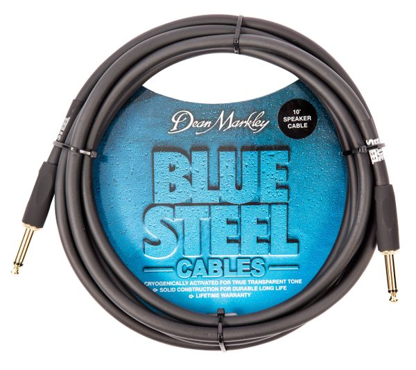 Dean Markley Blue Steel Speaker Cable ~ 10ft