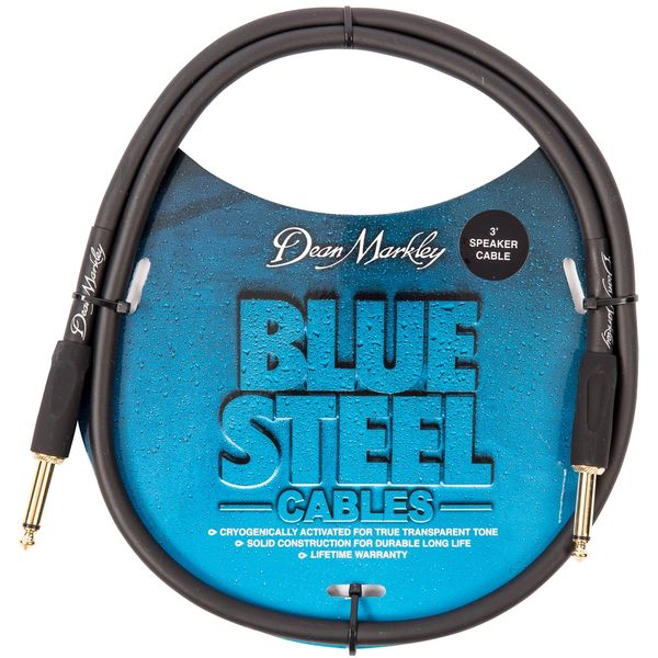 Dean Markley Blue Steel Speaker Cable ~ 3ft