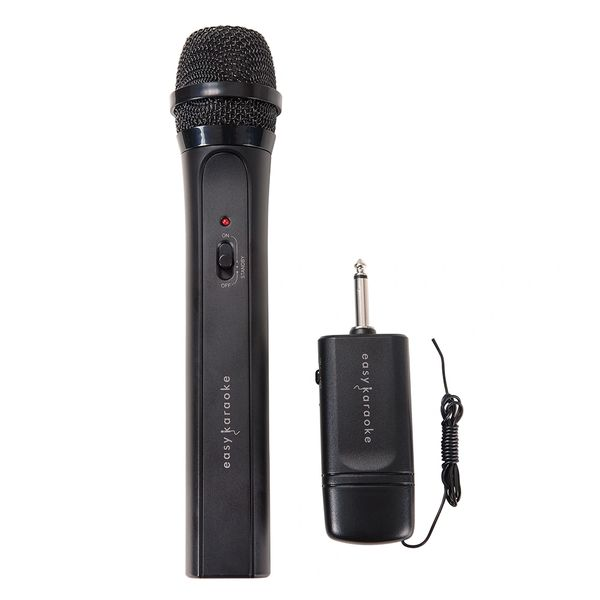 Easy Karaoke Uni-Directional Dynamic Microphone ~ Wireless