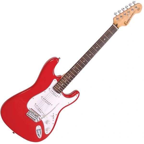 Encore E6 Electric Guitar ~ Gloss Red