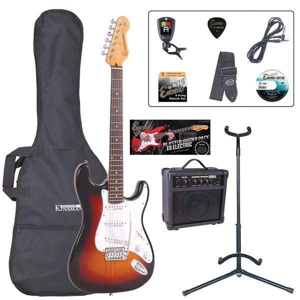 Encore E6 Electric Guitar Pack ~ Sunburst