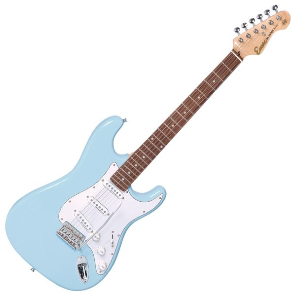 Encore E6 Electric Guitar ~ Laguna Blue