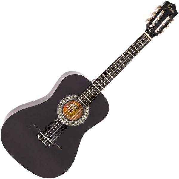 Encore 3/4 Size Classic Guitar Pack ~ Black