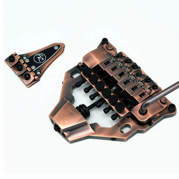 Floyd Rose FRX Surface Mount Tremolo System ~ Antique Bronze