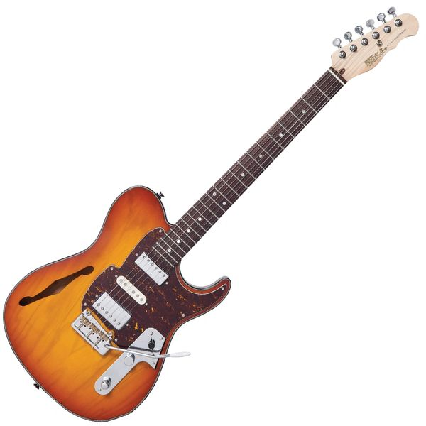 Fret-King Country Squire Semitone De Luxe ~ Honeyburst