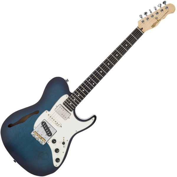 Fret-King Country Squire Semitone Special ~ Blue Burst