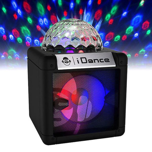 iDANCE Disco Ball Wireless Mini Speaker