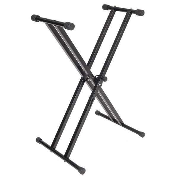 Kinsman� Standard Series Double Braced Keyboard Stand