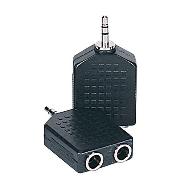 Kinsman Dual Adaptor ~ 6.35 STEREO to 3.5 STEREO