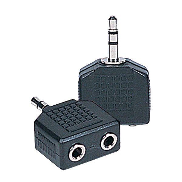 Kinsman Dual Adaptor ~ 3.5 STEREO to 3.5 STEREO