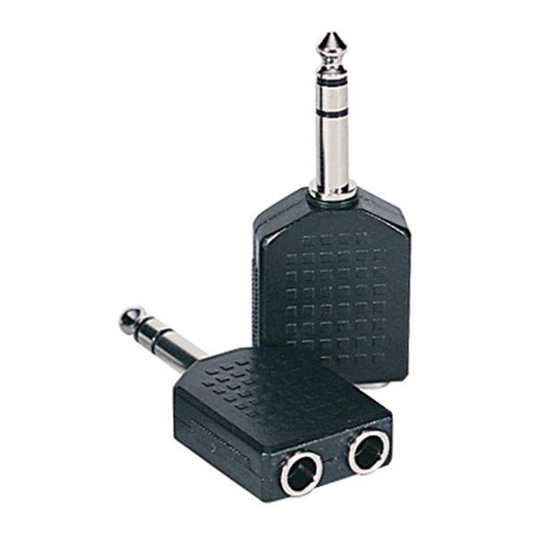 Kinsman Dual Adaptor ~ 2 x stereo sockets to stereo jack