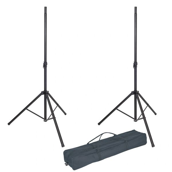 Kinsman Professional Speaker Stands + Bag - Black