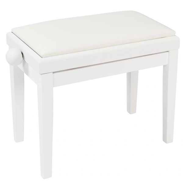Kinsman Adjustable Piano Bench ~ White