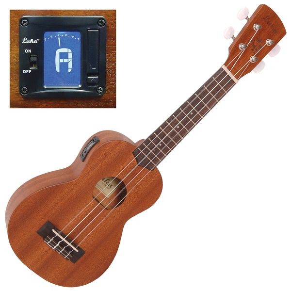 Laka Acoustic Ukulele ~ Soprano with Tuner