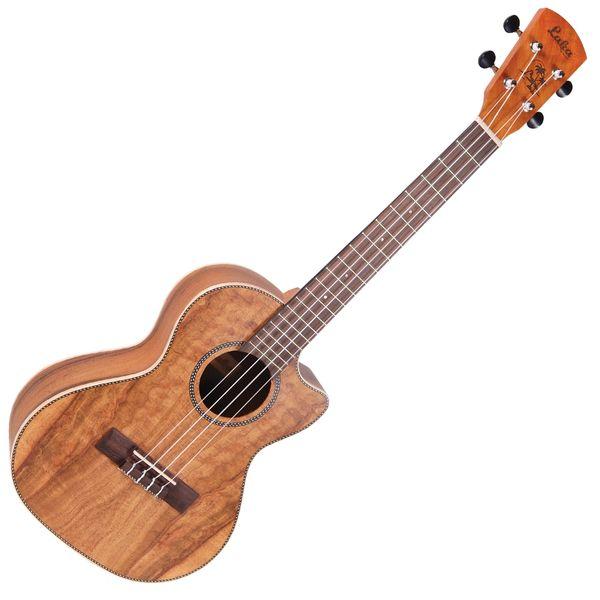 Laka Electro-Acoustic Cutaway Ukulele ~ Tenor