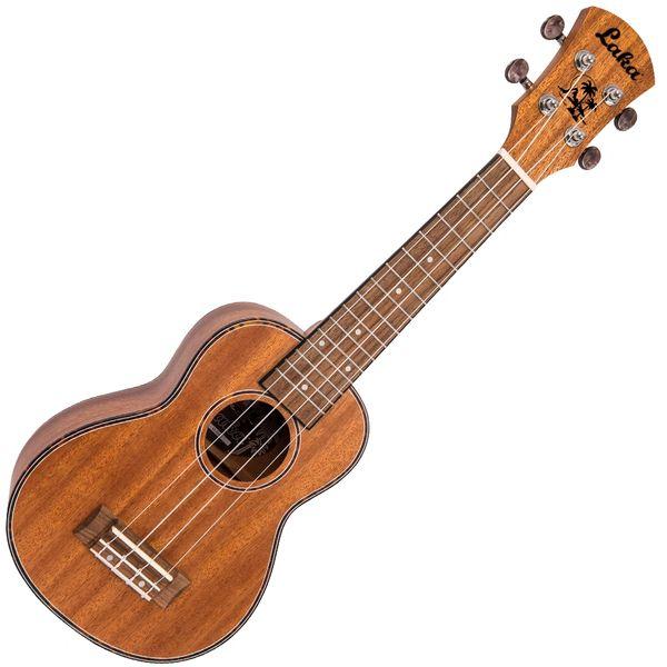 Laka Acoustic Ukulele & Bag ~ Soprano ~ Mahogany