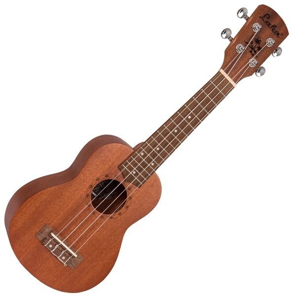 Laka Acoustic Ukulele & Bag ~ Soprano ~ Natural