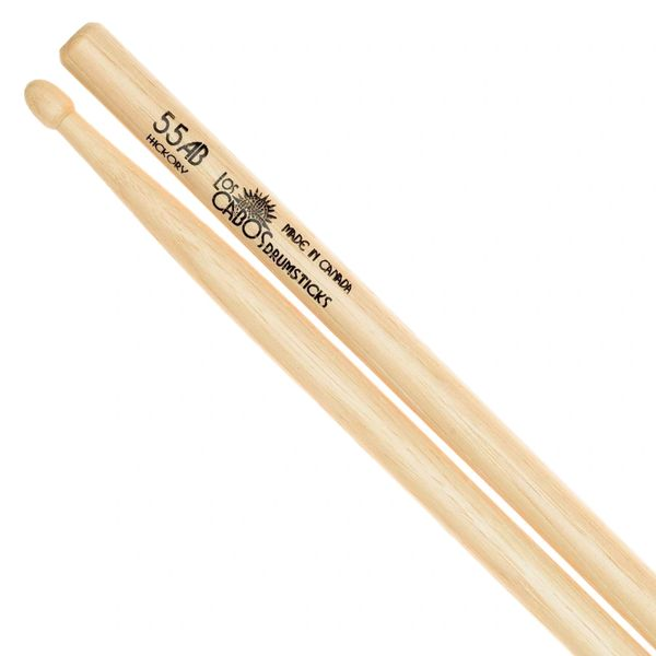 Los Cabos 55AB Hickory Drumstick ~ Wood Tip