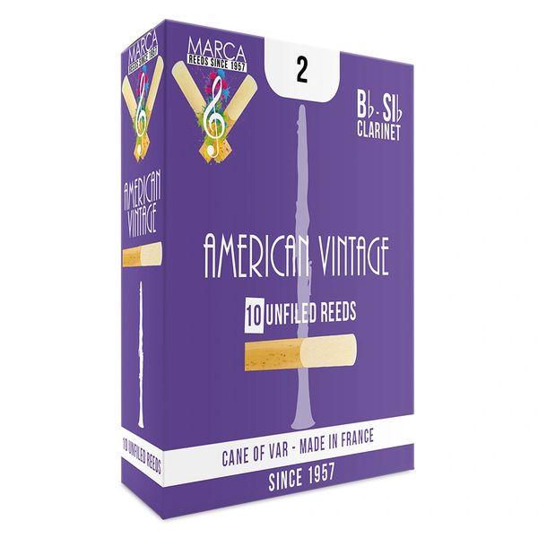 Marca American Vintage Reeds ~ 10 pack ~ Bb Clarinet ~ 2